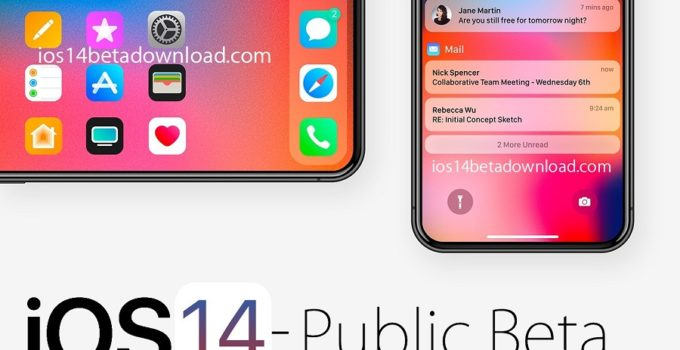 iOS 14 Public Beta download