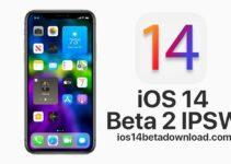 iOS 14 Beta 2 IPSW Download Links
