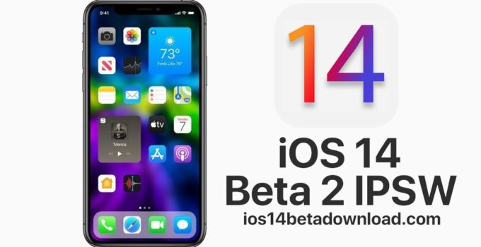 iOS 14 Beta 2 IPSW Download Links